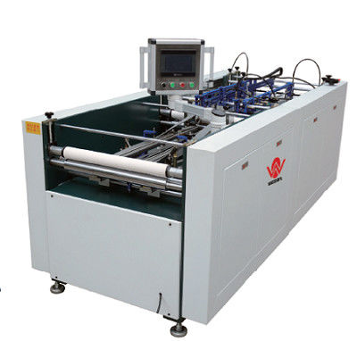 Four Side Folding Machine / Semi Automatic Case Making Machine For Making Hard Case